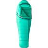 Marmot W's Angel Fire Sleeping Bag Long Gem Green/Green Garnet